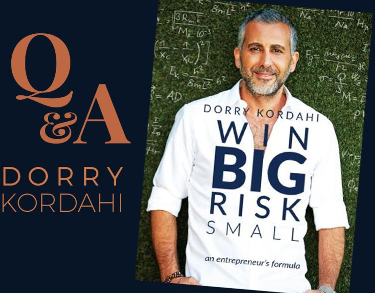 Dorry Kordahi entrepreneur win big risk small