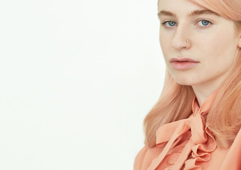 Moody Girls Temporary Pastel Hair Colour Peachy Keen