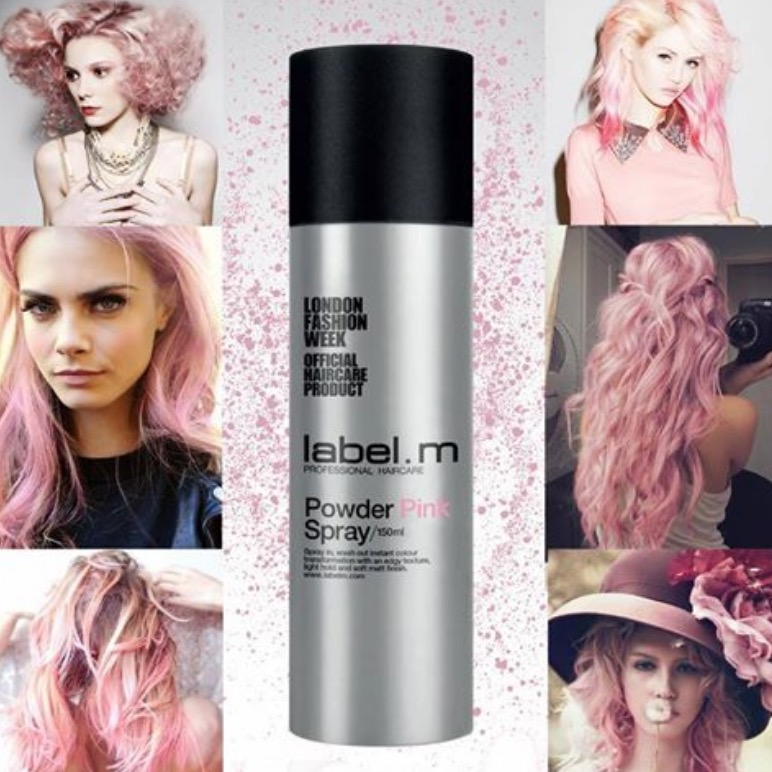 Powder Pink Spray: Image source: PoppyD.com for breast cancer charity