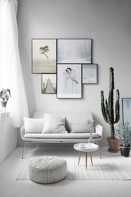 Living minimally in small spaces - source: Pinterest