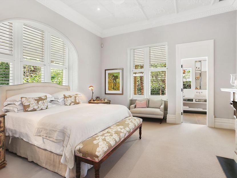 Huge Master Bedroom at 10 Cross Street Mosman