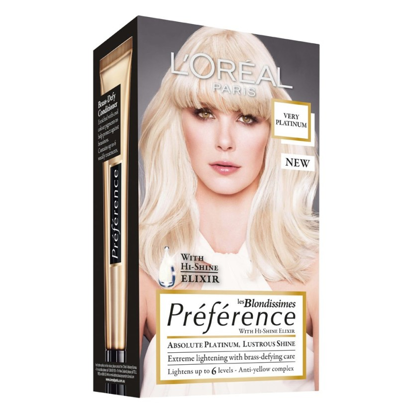 L'oreal Paris Preference Very Platinum 6 Levels of Lift