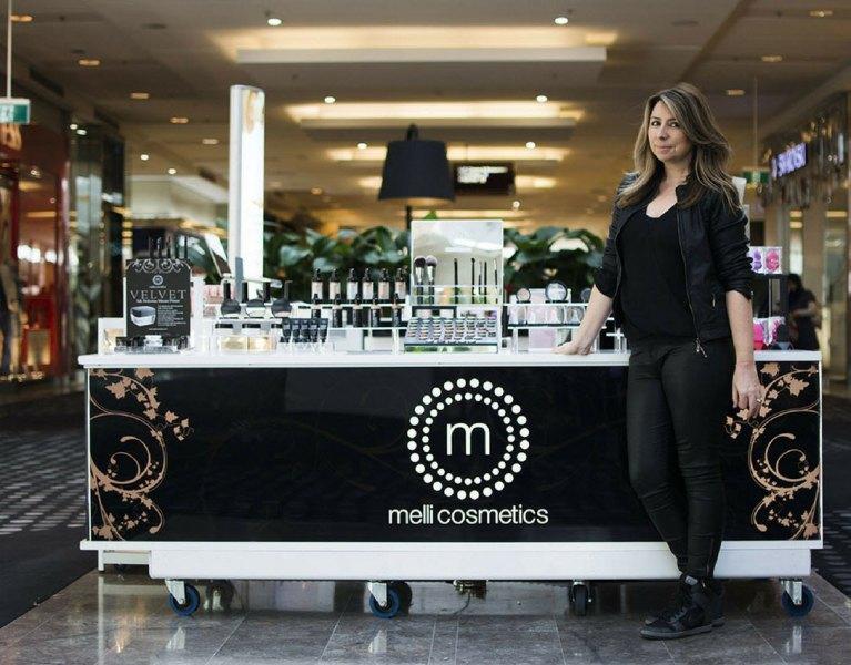 "Melissa Carter of ""Melli"" cosmetics"