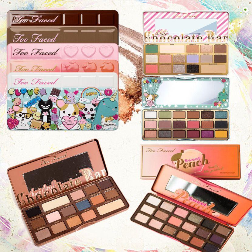If $5.59 a palette, it probably is. I have the Too Faced Brushes and this is totally a fake, and the images are from legitimate sellers, but I would be look different in real life.