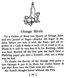 Orange Shrub Punch