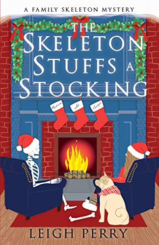 Skeleton Stuffs a Stocking