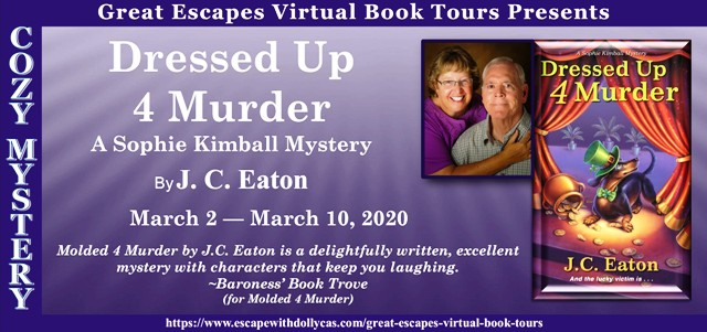 Dressed up 4 Murder Review and Giveaway