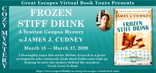 Frozen Stiff Drink Guest Post and Giveaway