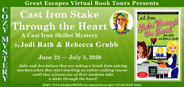 CAST IRON STAKE THROUGH THE HEART GUEST POST AND GIVEAWAY