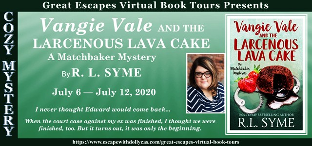 Vangie Vale and the Larcenous Lava Cake Guest Post