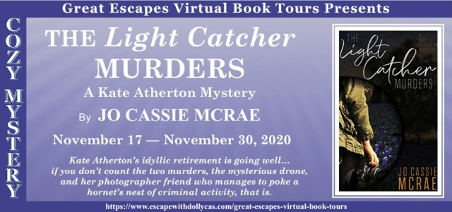 The Light Catcher Murders Spotlight and Giveaway