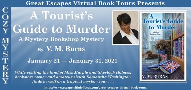 A Tourist's Gude to Murder Review and Giveaway