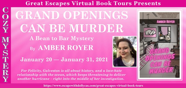 Grand Openings Can Be Murder Author Guest Post and Giveaway