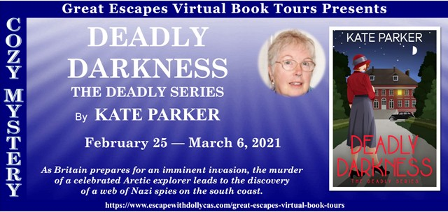 Deadly Darkness Guest Post and Giveaway