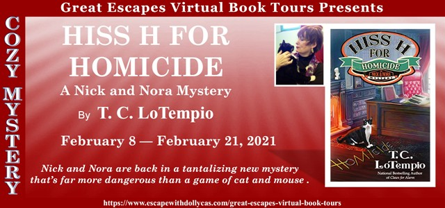 Hiss H for Homicide Guest Post and Giveaway