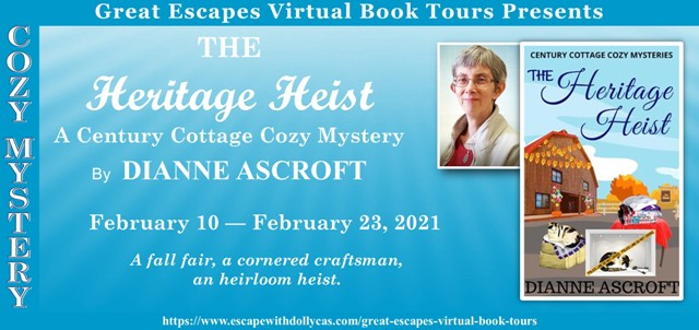The Heritage Heist Guest Post and Giveaway