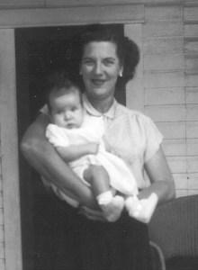 Copy of Vintage photos - 1953 - Baby Diane (crop)