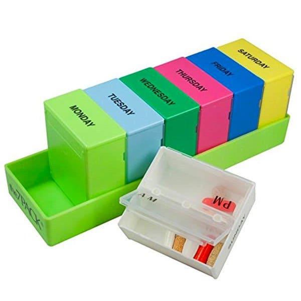 Diane's Favorites | Supplements | Borin-Halbich The 7 Day Pill Organizer