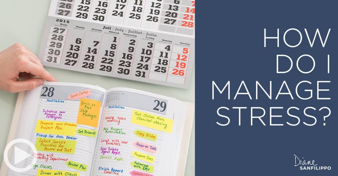 How Do I Manage Stress - Portfolio