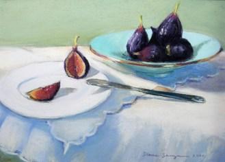 Figs, 9 x 12