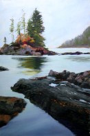 On the Juan de Fuca Trail 12 x 18