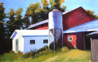 The Old Milk Barn 12 x 18