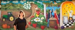Santa Maria Harvest Mural