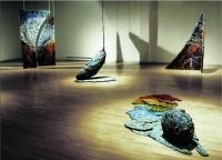 Exposition Sculptures textiles de Diane T. Tremblay