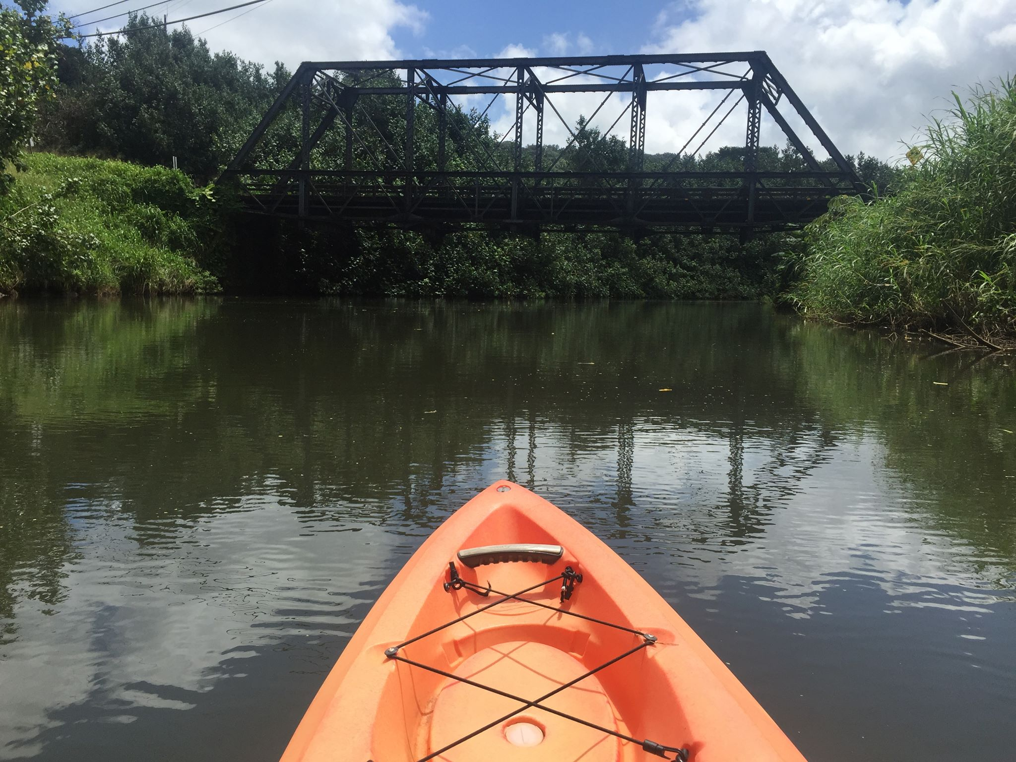 Kayaking in Kauai