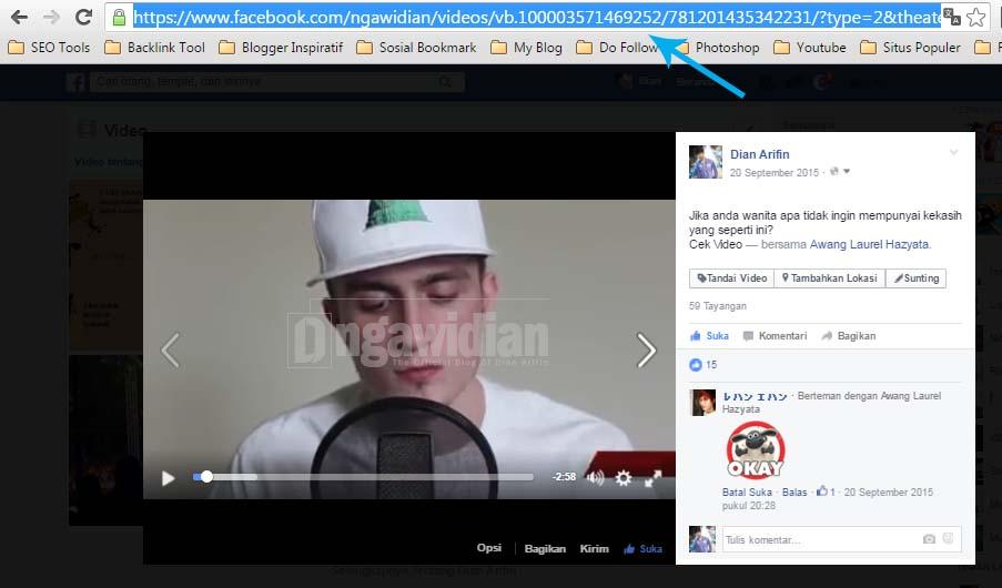 Cara Download Video di Facebook 2
