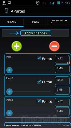 Cara Membagi Partisi SD Card Android