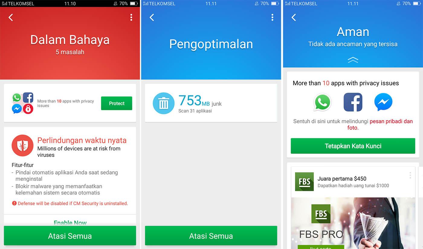 Bersihkan Ancaman Virus Android