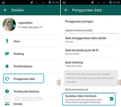 Hemat Data Internet WhatsApp