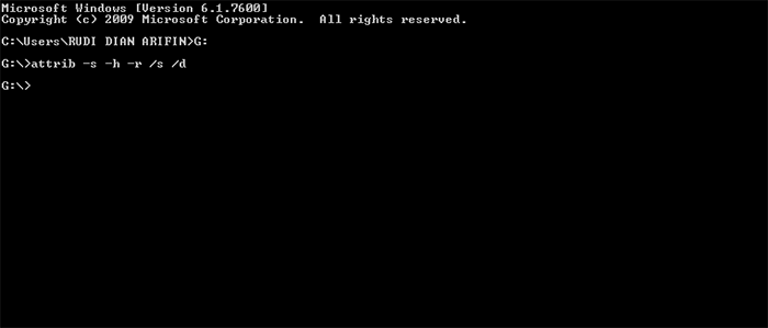 Cara Hapus Virus Shortcut