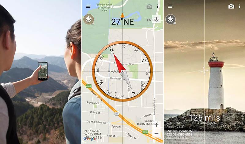 Kompas Smart Compass
