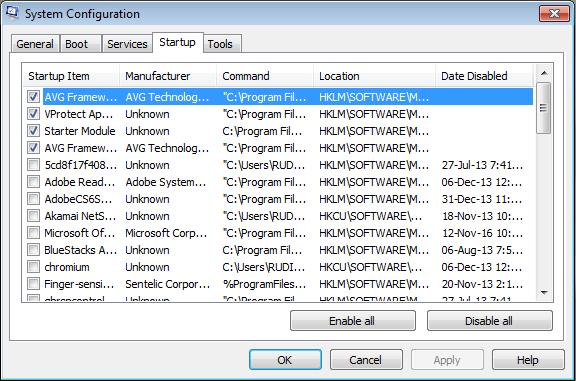 Cara Mengatasi Booting Windows Lemot Dengan Msconfig