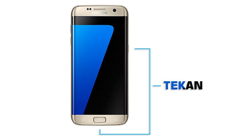 Screenshot Layar Samsung Galaxy S7 dan S7 Edge