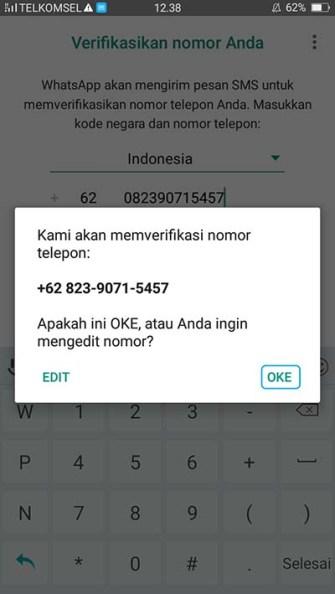Cara Daftar WhatsApp di Android