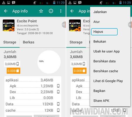 Cara Hapus Aplikasi Bawaan Android