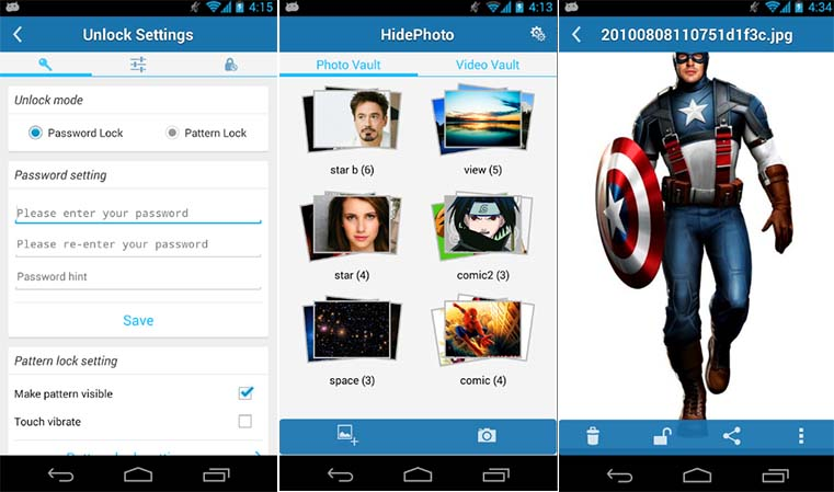 HidePhoto Android