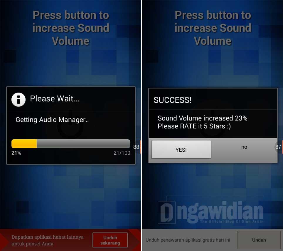 Cara Memperbesar Kualitas Suara Android