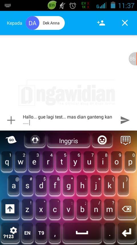 Cara Mengganti Keyboard Android 3