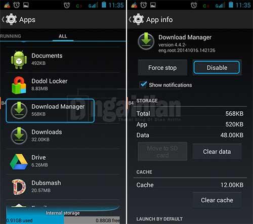 Mengatasi Keyboard Android Muncul Pesan Error