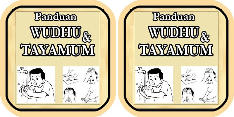 Panduan Wudhu dan Tayamum