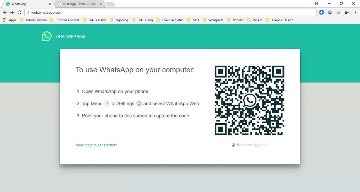 Beranda WhatsApp Web