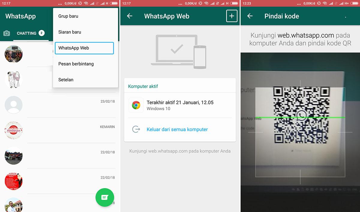 Scan QR Code WhatsApp