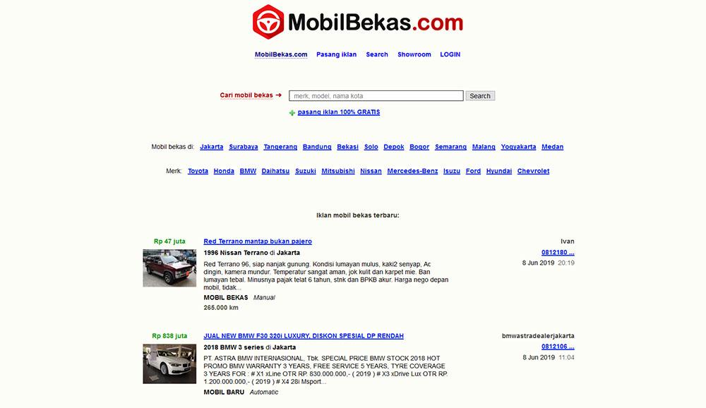 MobilBekas