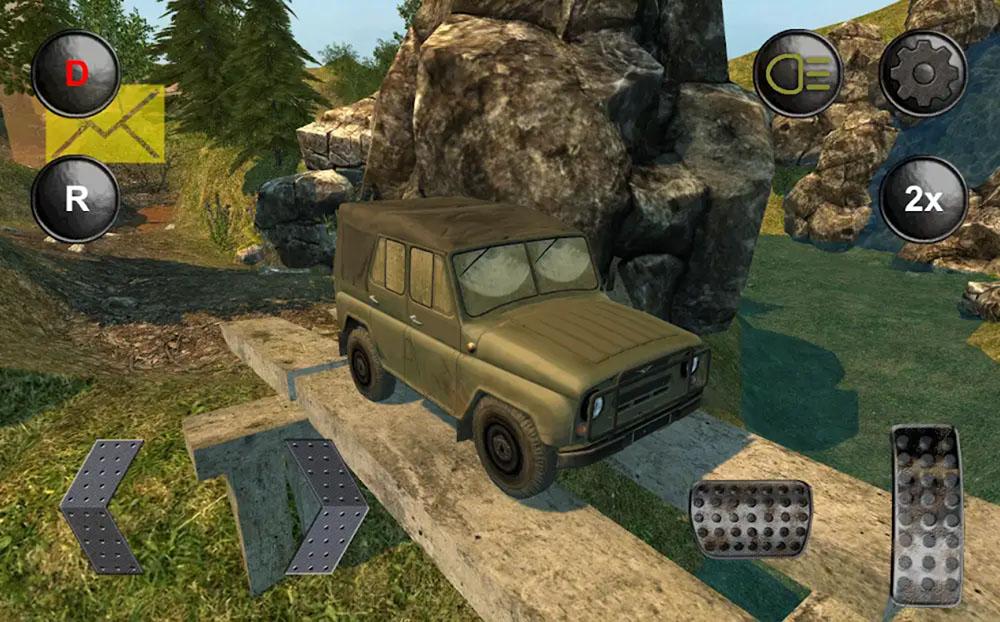 SUV Rusia 4x4 Off-road