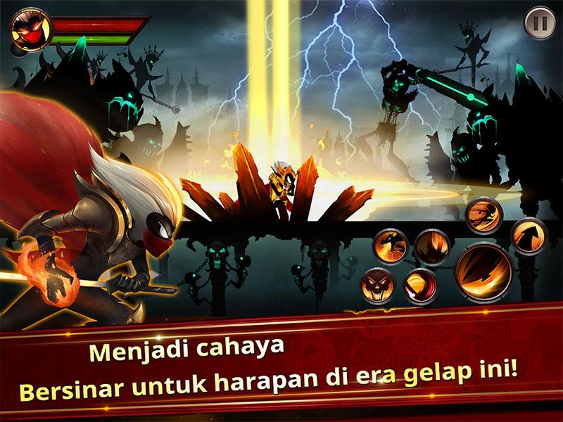 Stickman Legends - Ninja Warriors Shadow War