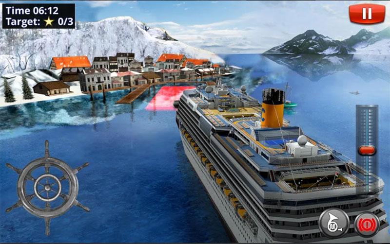 Big Cruise Ship Simulator Games 2018